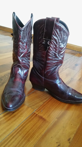 Botas Texanas N* 45 -liquido Hoy -excelente Estado