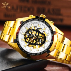 800b658ad89f Reloj Mont Blanc Automatico Skeleton - Joyas y Relojes en Mercado ...