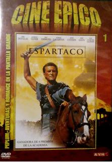Dvd - Espartaco - Kirk Douglas - Original
