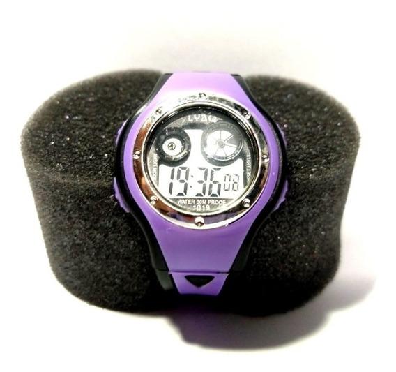 Relógio Infantil Digital Roxo Promoção