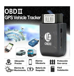 Obdii Gps Rastreador Localizador Espia Automovil Tracker
