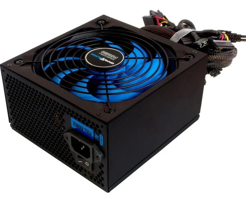 Imagen 1 de 5 de Fuente De Poder 650w Game Factor Psg650 80plus Bronze Atx