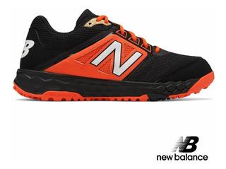 Runing Shoes New Balance Anaranjados Beisbol Zapatos