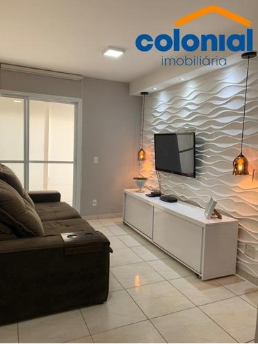 Imagem 1 de 30 de Lindo Apartamento 2 Quartos/1suíte Resort Santa Angela Engordadouro/jundiaí - Ap01343 - 69353781