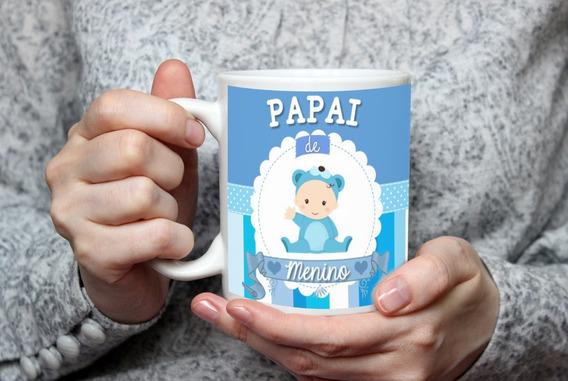 Caneca Personalizada Presente Papai De Primeira Viagem