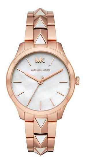Relógio Feminino Michael Kors Runway Rosé - Original