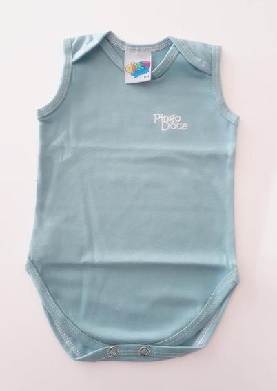 Body Regata Bebê Pingo Doce Básico