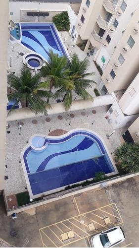 Apartamento À Venda, 65 M² Por R$ 180.000,00 - Residencial Village - Caldas Novas/go - Ap0143