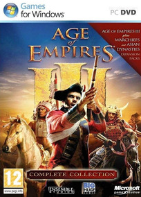 Age Of Empires 3 + Pacotes De Expansão Digital Original