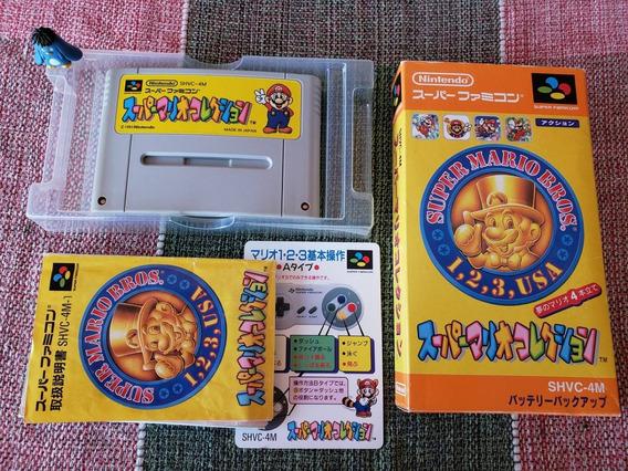 Snes Super Famicom Super Mario All Star Collection A1