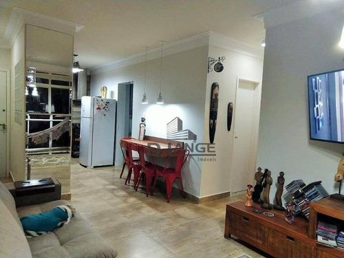 Imagem 1 de 30 de Apartamento Com 2 Dormitórios À Venda, 77 M² Por R$ 425.000,00 - Centro - Campinas/sp - Ap16768