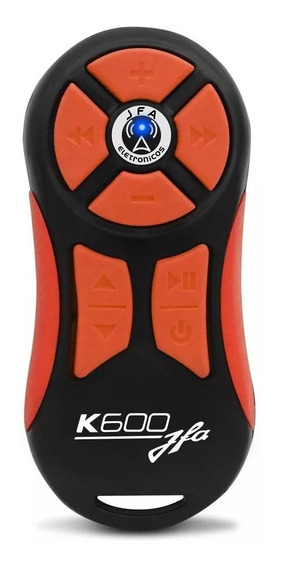 Controle Longa Distancia Jfa Laranja / Preto K600