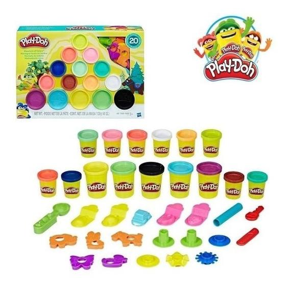 Masa Play Doh Set Montaña De Colores
