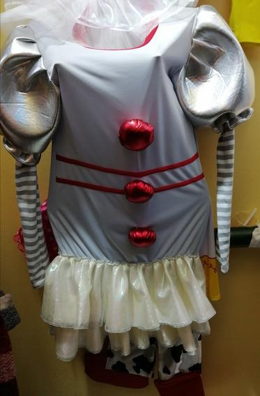 Disfraz Payaso It Novia Payaso It Mujer S.m.l Halloween