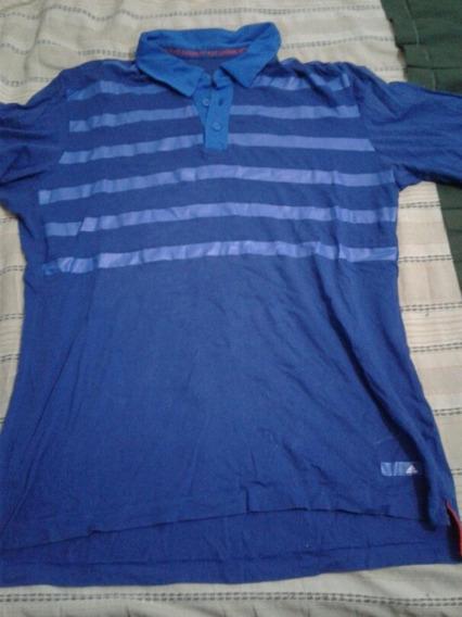 Chomba adidas Azul Claro