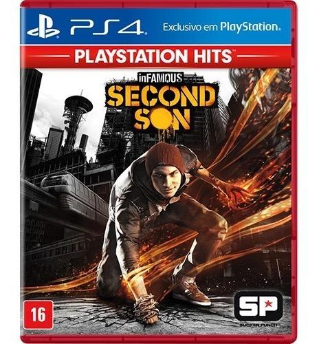 Jogo Infamous Second Son Playstation 4 Ps4 Mídia Física