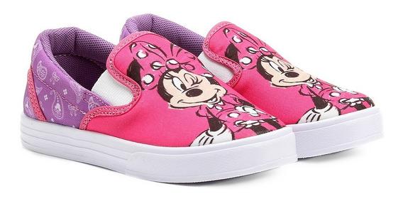 Tenis Infantil Iate Disney Minie Pink/lilaz - Ref 523