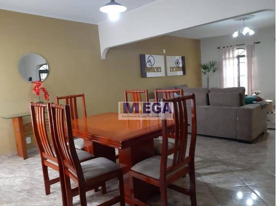 Casa Com 3 Dormitórios À Venda, 210 M² Por R$ 500.000 - Vila Pompéia - Campinas/sp - Ca1316