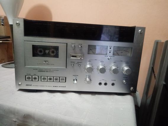 Tape Deck Akai Gxc-570dii (leia Todo Anuncio)