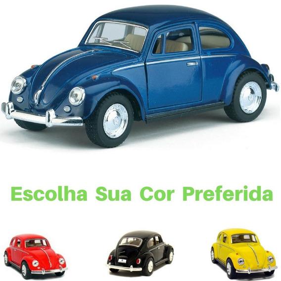 Miniatura Volkswagen Fusca Ano 1967 Escala 1/32 Coleção