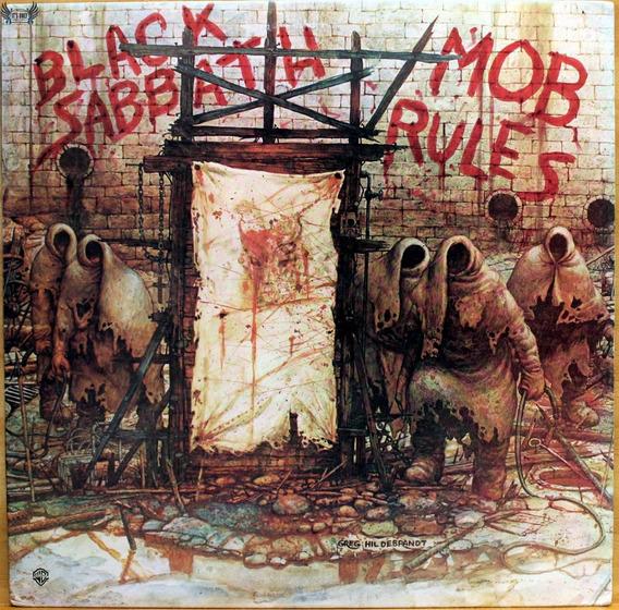 Lp Black Sabbath - Mob Rules ( Importado / Eua )