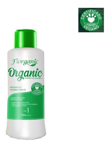 Imagem 1 de 2 de Shampoo Antirresíduo Quiabo E Argan 300ml - Fiorganic