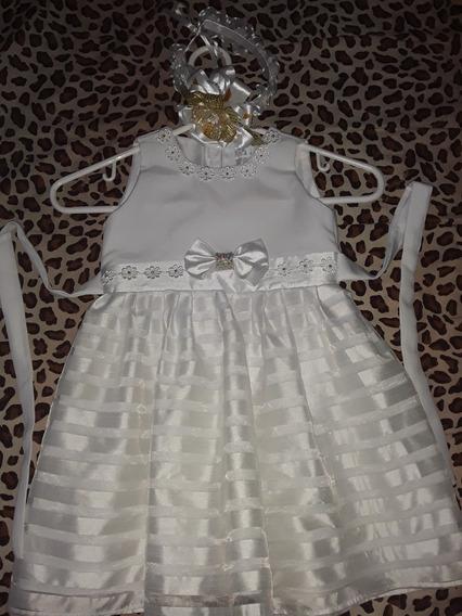 Vestido Niña Bautizo Fiesta Boda Matrimonio Talla 4