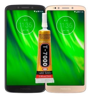 Tela Touch Display Lcd Moto G6 Play Xt1922 + Cola + Película