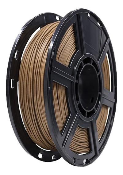 Filamento 3d 0.5kg Impressoras Madeira Escuro Flashforge
