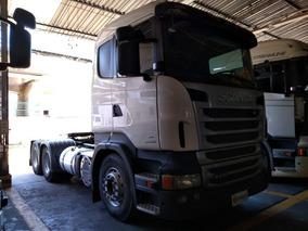 Scania R440 Automática 6x4 Ano 2013 C/ Retarder Único Dono