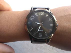 Relógio Pulseira Elástica Aço Inoxidável + Caixa