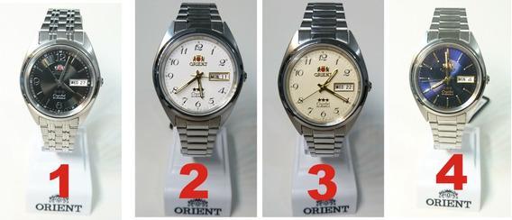 Relogio Orient Automatico 21 Jewels - Cristal 3 Estrelas