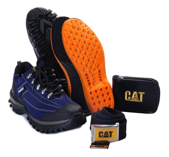 Tenis Trilha Bota Caterpillar Adventure Caminhada +kit Grati