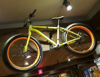 Bicicleta Vairo Fat Panzer Com Nieve Arena Rodado 26 Lujo
