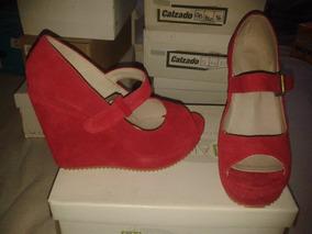 8237c8fd5b2 Zapatos Con Poca Plataforma - Zapatos de Mujer en Mercado Libre ...