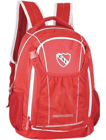 Mochila De Independiente Porta Pelota Linea Oficial 18