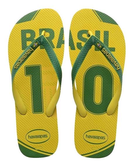 Havaianas Seleção Brasil - Verde Amarelo