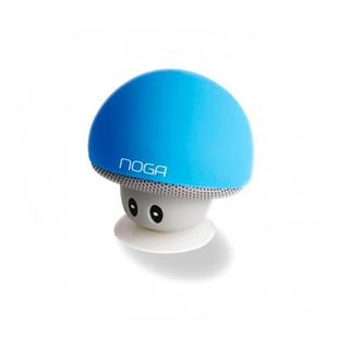 Parlante Portatil Mini Bluetooth Noganet Ng-p074 Azul Fact A