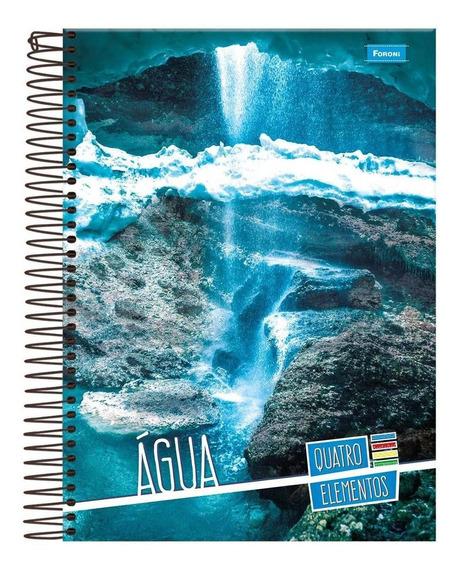 Caderno Universitário Capa Dura 20x1 400 Folhas 4 Elementos