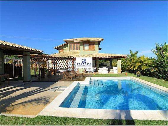 Casa Com 4 Dorms, Imbassaí, Mata De São João - R$ 875.000,00, 375m² - Codigo: 68300 - V68300