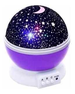 Proyector Lámpara Luz Led Cielo Estrella Espanta Cuco Niños
