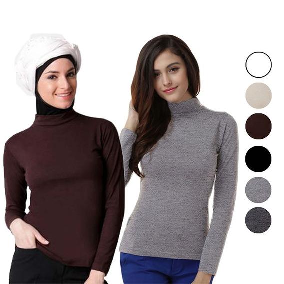 Sweter Termico Con Forro Polar Para Uso Interior Y Exterior