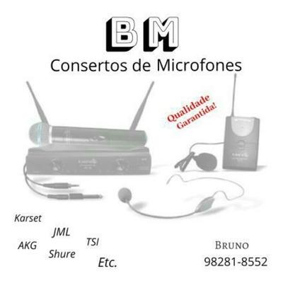 Reparo De Microfones