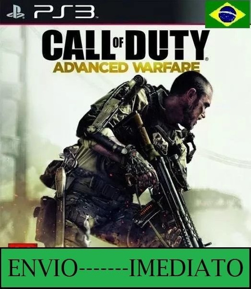 Call Of Duty Advanced Warfare Ps3 Psn Mídia Digital