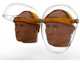 Mascara Facial Profesional M5 Burbuja Sanitaria Transparente