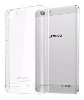 Capinha Capa Case Silicone Lenovo Vibe K5 + Pelicula Vidro