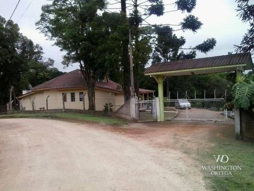 Imagem 1 de 30 de Chácara Com 3 Dormitórios À Venda, 15000 M² Por R$ 800.000 - Agarau - São José Dos Pinhais/pr - Ch0062