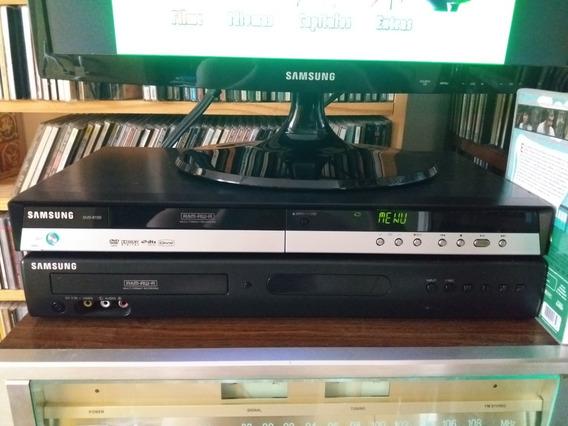 Dvds Player Recorder Samsung Dvd-170/ Dvd-150 Leia Descrição