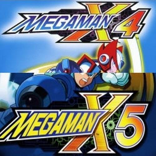 Megaman X4 E X5 Mega Man Ps3 Playstation 3 - 2 Jogos Digital