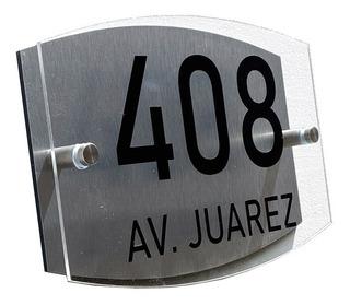 Números Para Casa Ovalado Ce 25 Cm